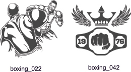 Boxing Clipart - Free vector lipart in EPS and AI formats.