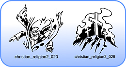 Christian Religion 2 - Free vector lipart in EPS and AI formats.