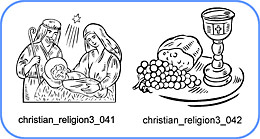 Christian Religion 3 - Free vector lipart in EPS and AI formats.