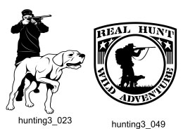Hunting Clipart 3 - Free vector lipart in EPS and AI formats.