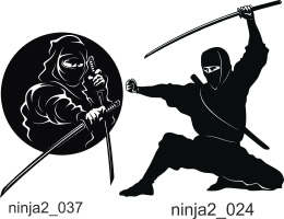 Ninja Clipart. Free vector lipart in EPS and AI formats.